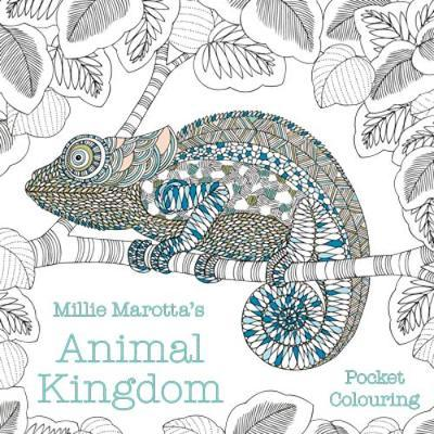 Millie Marotta's Animal Kingdom Pocket Colouring by Millie Marotta