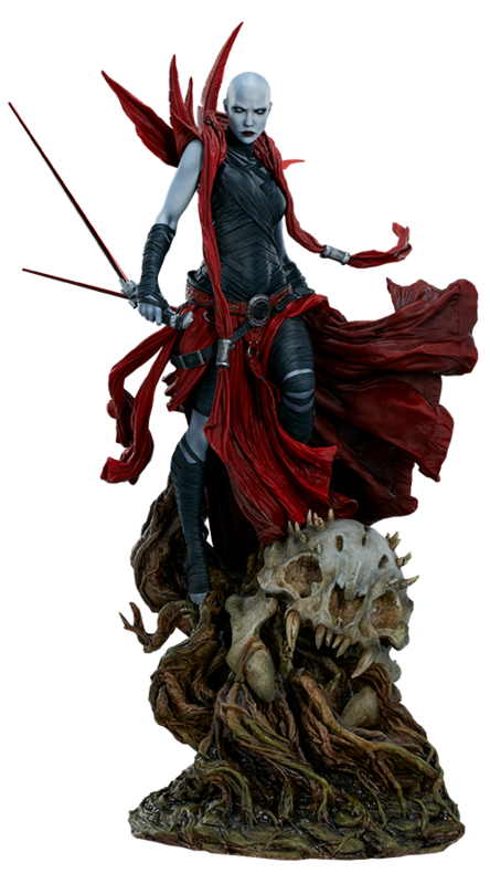 "Star Wars: Asajj Ventress - 23"" Mythos Statue"