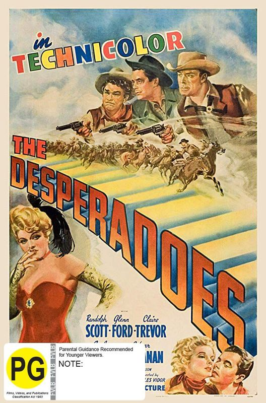 The Desperadoes (Six Shooter Classics) on DVD