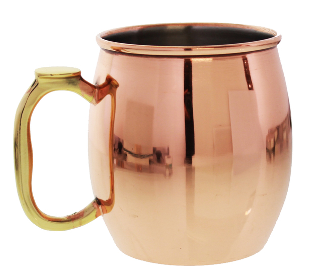 Moscow Mule Mug Copper Plated