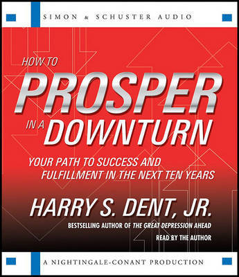 How to Prosper in a Downturn: Your Path to Success and Fulfillment in the Next Ten Years by Harry S Dent