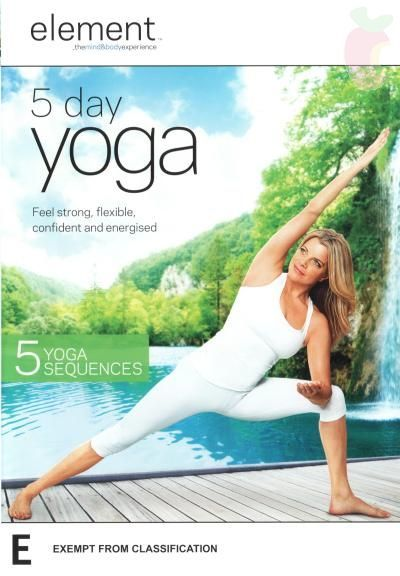 Element 5 Day Yoga on DVD image