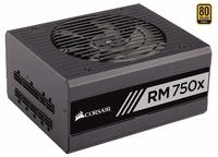 CORSAIR RMx Series, RM750x, 750 Watt, Fully Modular Power Supply, 80+ Gold Certified image