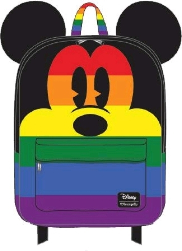 be74bbc4568c Loungefly  Mickey Mouse - Mickey Rainbow Backpack image