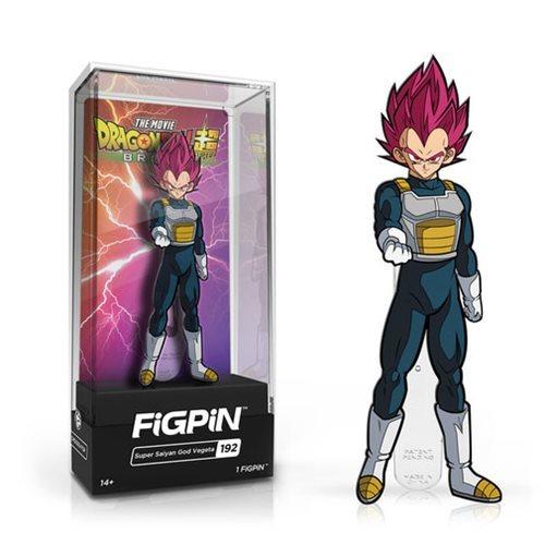 Dragon Ball Super Movie: SSG Vegeta (#192) - Collectors FIGPiN image