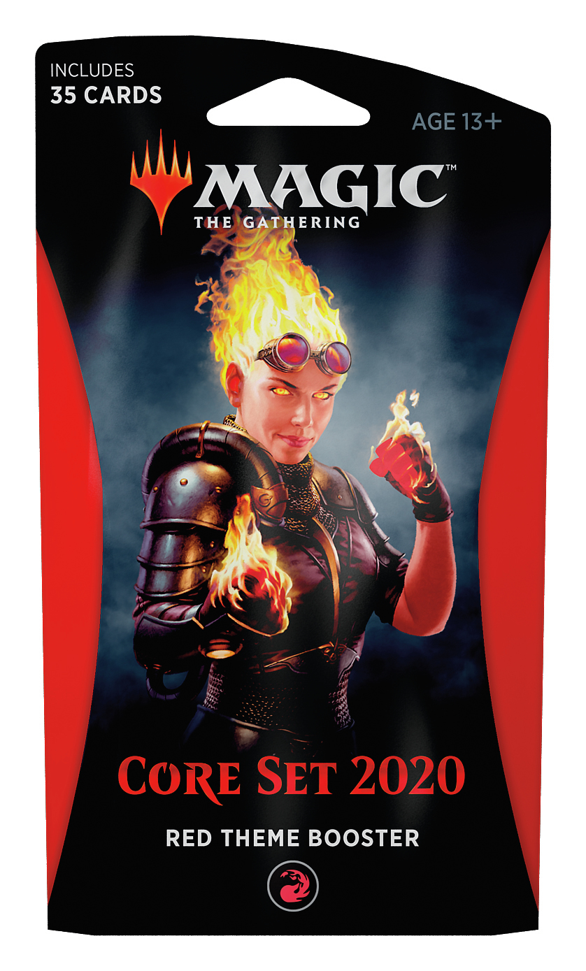Magic The Gathering: Core Set 2020 Red Theme Booster image