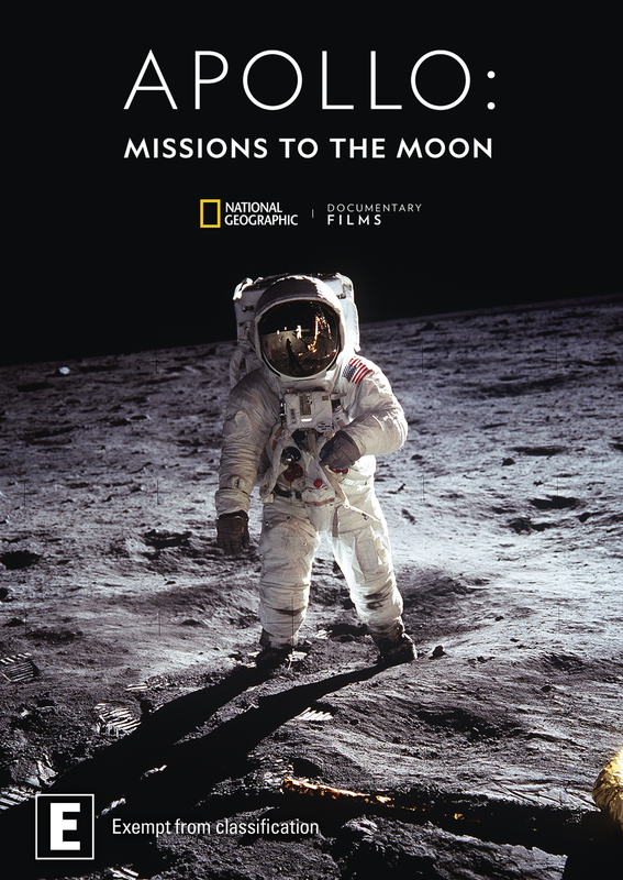 Apollo: Missions To The Moon on DVD