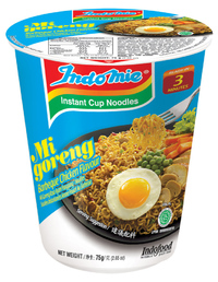 Indomie Cup Noodles - BBQ Chicken (75g 12pk) image