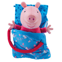 Peppa Pig: Light & Sounds Plush - Sleep Over Peppa