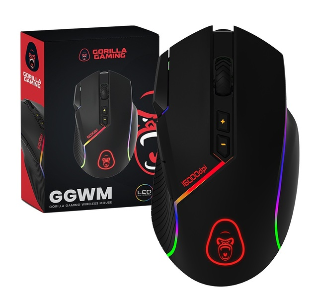 Gorilla Gaming Wireless Mouse for PC