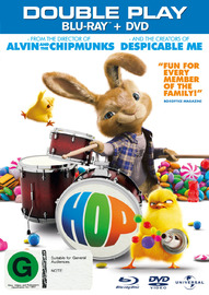 Hop - Double Play on DVD, Blu-ray