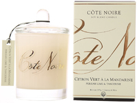 Côte Noire Soy Blend Candle (Persian Lime & Tangerine, 185g)