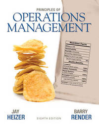 Principles of Operations Management by Jay Heizer image
