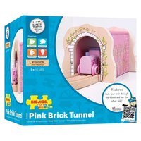 Bigjigs: Pink Brick Tunnel