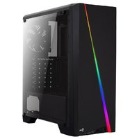 Aerocool: Cylon RGB Mid Tower Case - Black image