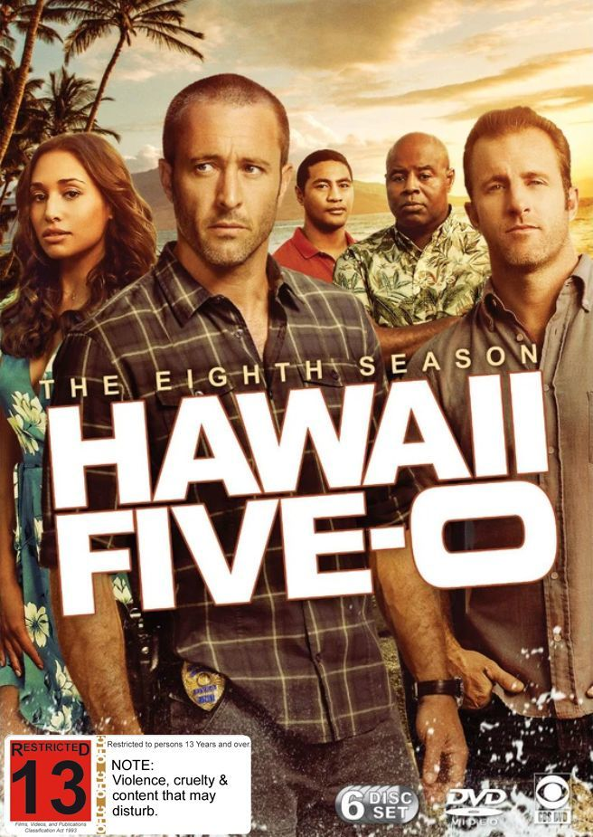 Hawaii Five-0 - The Complete Eighth Season on DVD image