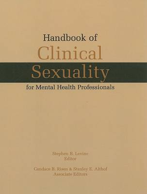 Handbook of Clinical Sexuality for Mental Health Professionals image