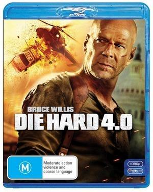 Die Hard 4.0 on Blu-ray