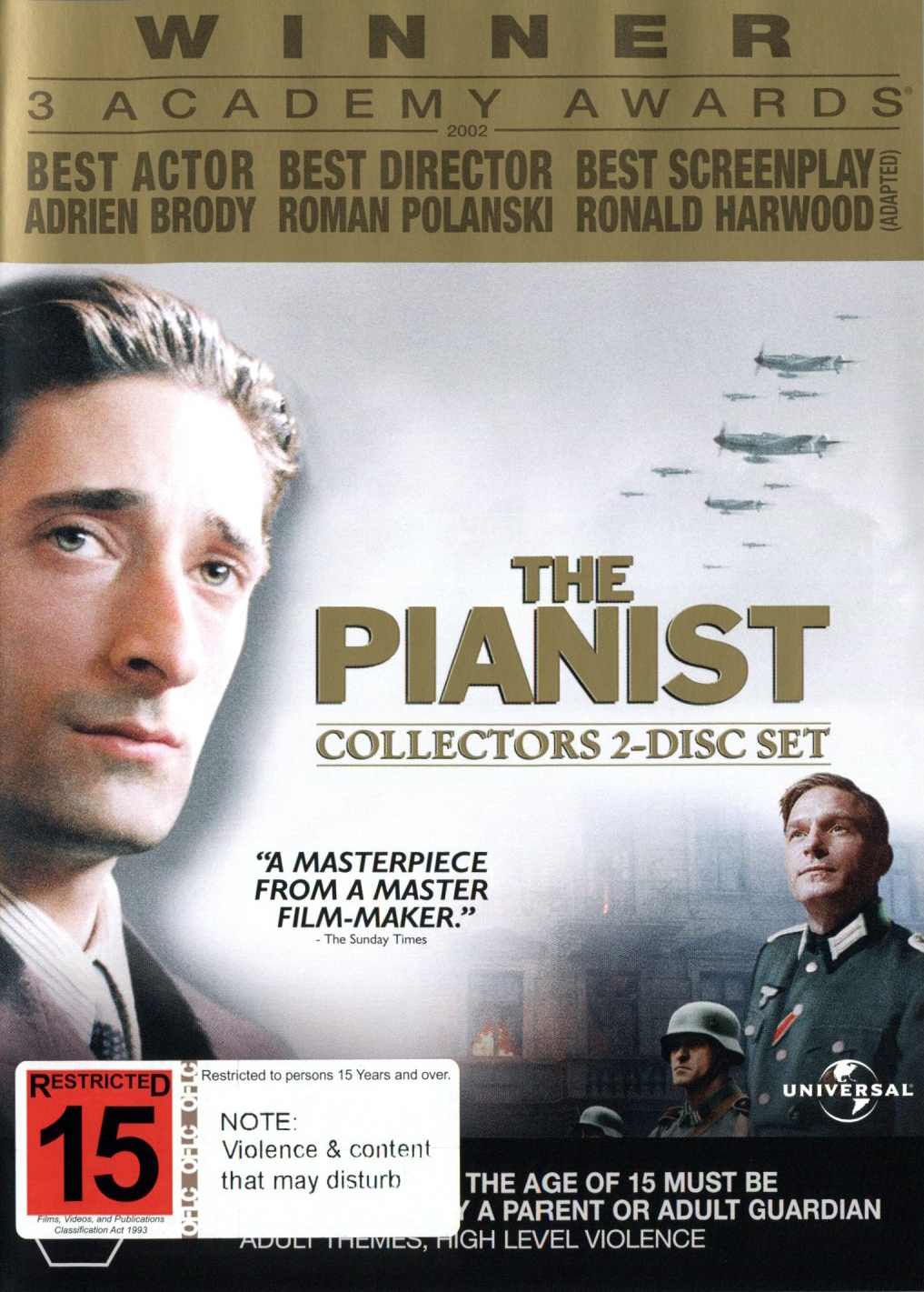 The Pianist (2 Disc) on DVD image