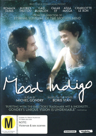 Mood Indigo on DVD
