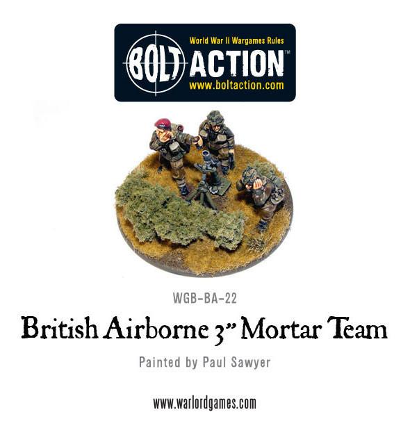 British Para 3'' Mortar & Crew