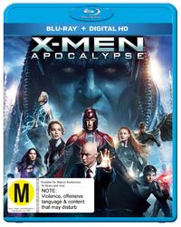 X-Men Apocalypse on Blu-ray