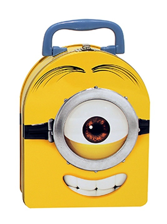 Despicable Me: Minions Grin Arch Shape Tin Tote Lunchbox image