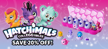 20% off Hatchimals CollEGGtibles!