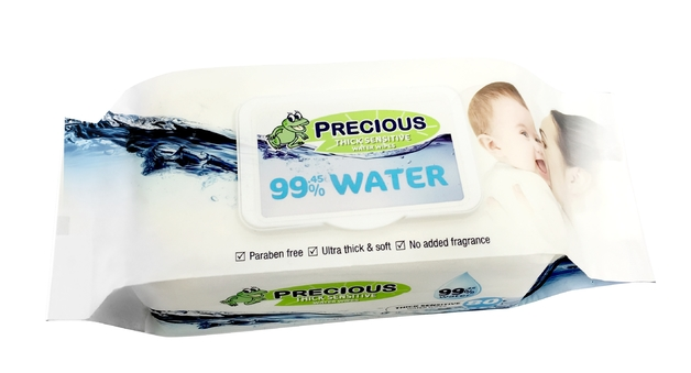 Precious - Water Wipes (80 Wipes)