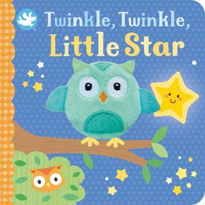 Little Learners Twinkle, Twinkle, Little Star Finger Puppet Book by Parragon Books Ltd image