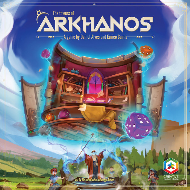 The Towers of Arkhanos - Board Game