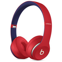 Beats Solo3 Wireless On-Ear Headphones - Club Red