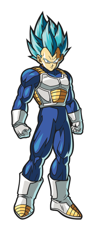 Dragonball Fighter Z: SSGSS Vegeta (#117) - FiGPiN
