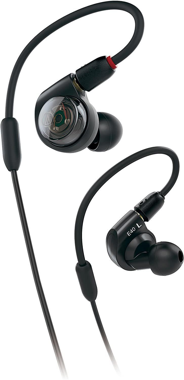 Audio-Technica ATHE40 Professional In-Ear Monitor Headphones image