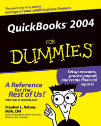 QuickBooks 2004 For Dummies by Stephen L. Nelson image