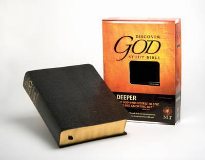 Discover God Study Bible-NLT