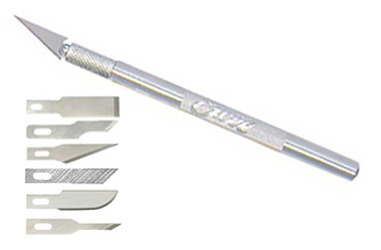 Excel K1 Light Duty Knife with 6 Assorted Blades