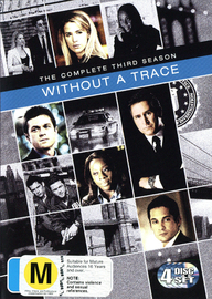 Without A Trace - Season 3 on DVD image