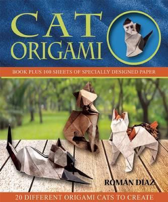 Cat Origami by Roman Diaz
