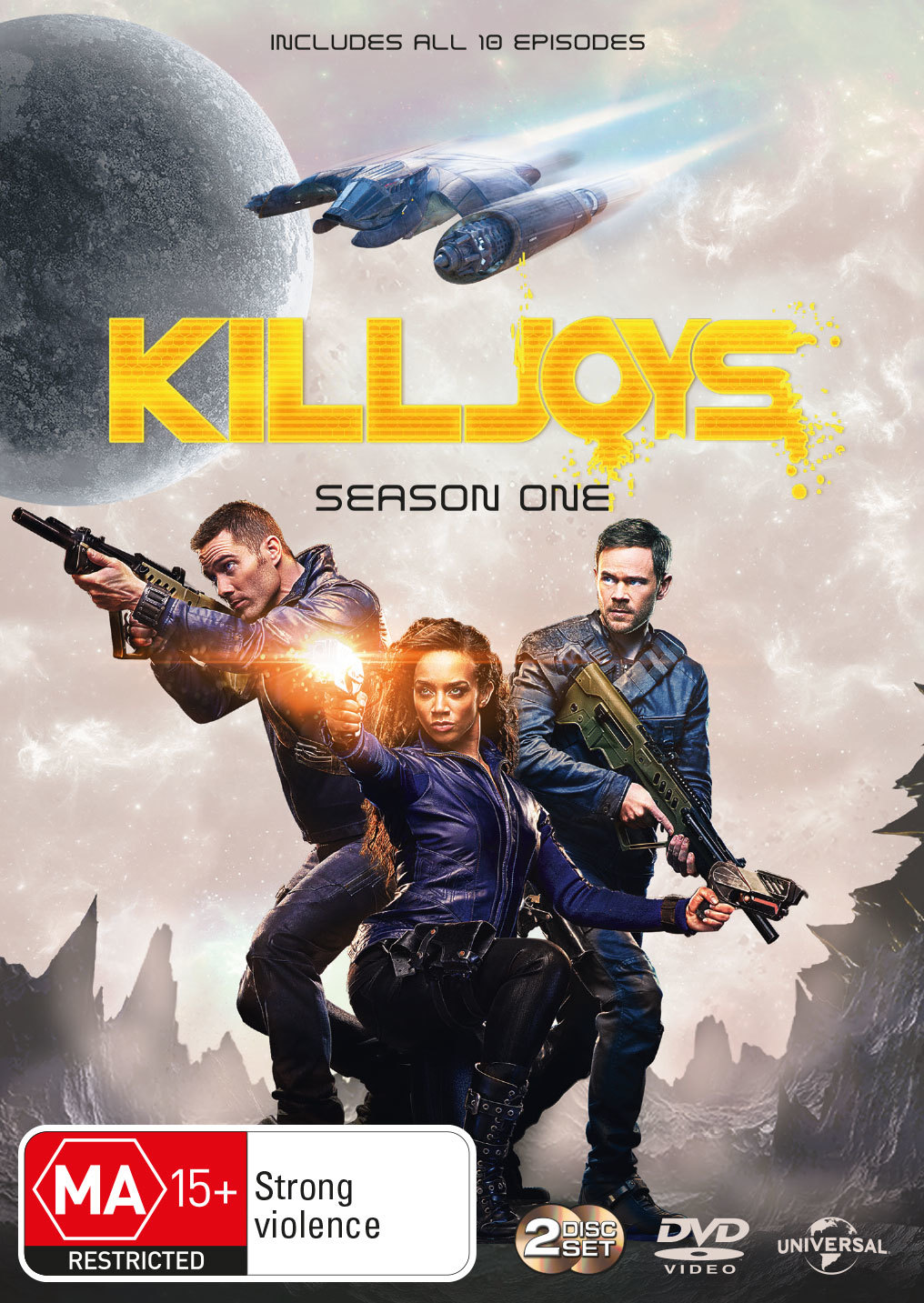 Killjoys - Season One on DVD image