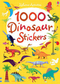 1000 Dinosaur Stickers by Lucy Bowman