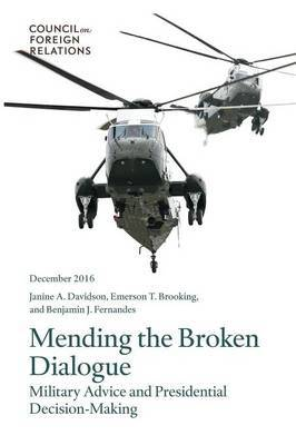 Mending the Broken Dialogue by Janine a Davidson image