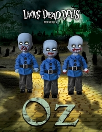 Living Dead Dolls - Wizard of Oz Horror Munchkins 3 Pack Exclusive Set