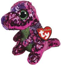 TY Beanie Boo: Flip Stompy Dinosaur - Small Plush