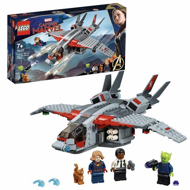 LEGO Super Heroes - Captain Marvel & The Skrull Attack (76127)