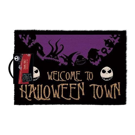 Nightmare Before Christmas Doormat - Halloween Town