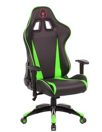Gorilla Gaming Commander Chair - Green & Black for