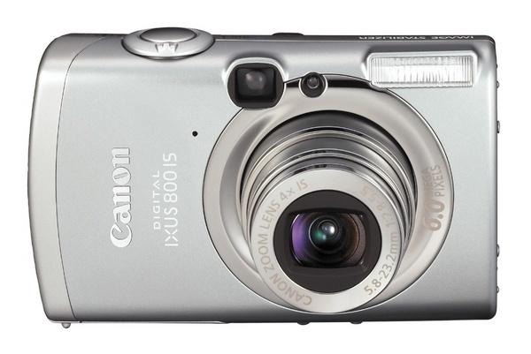 Canon Digital Camera IXUS 800 IS 6.0Mp 4x Optical
