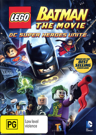 Lego Batman: The Movie on DVD