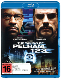 The Taking of Pelham 123 on Blu-ray